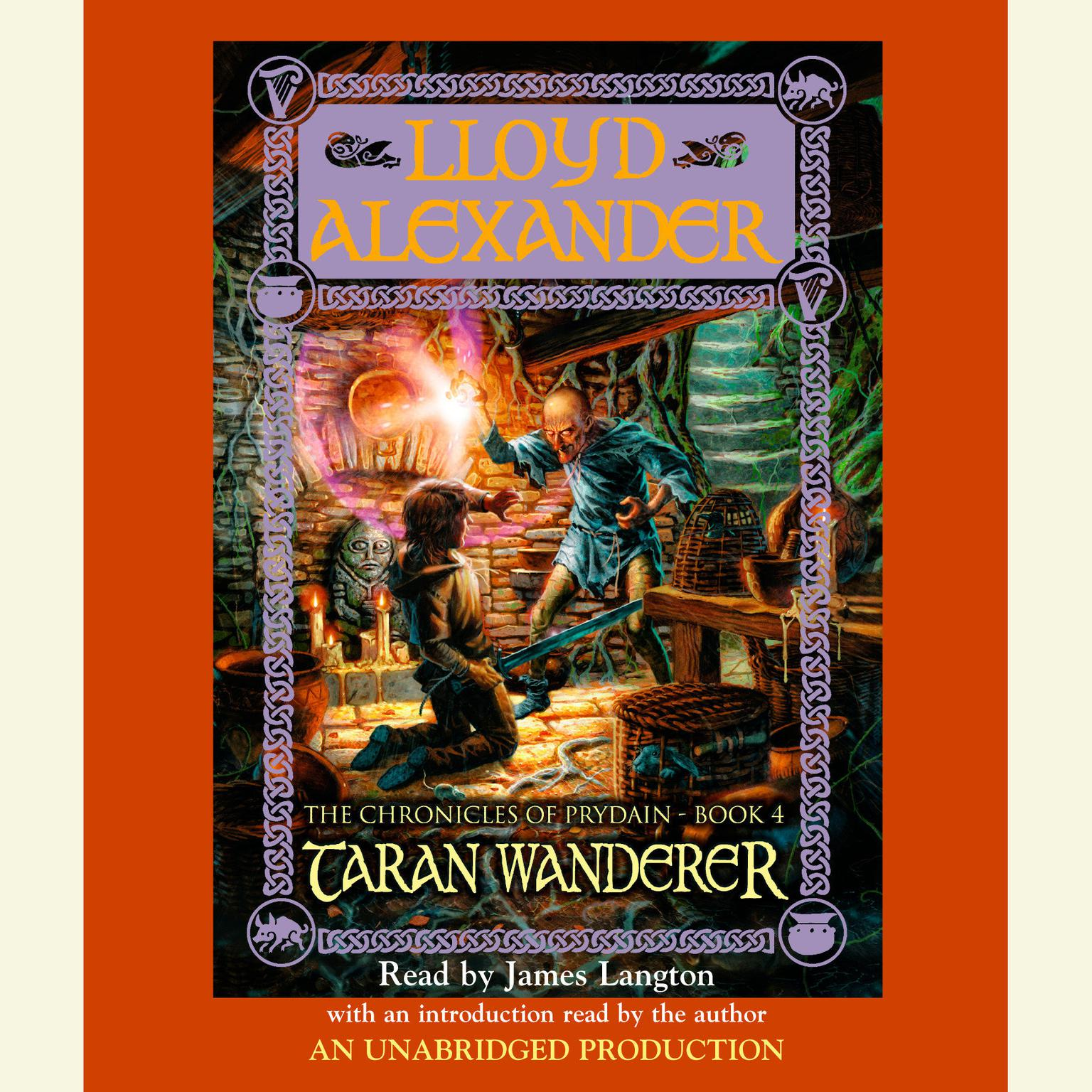 Printable The Prydain Chronicles Book Four: Taran Wanderer Audiobook Cover Art