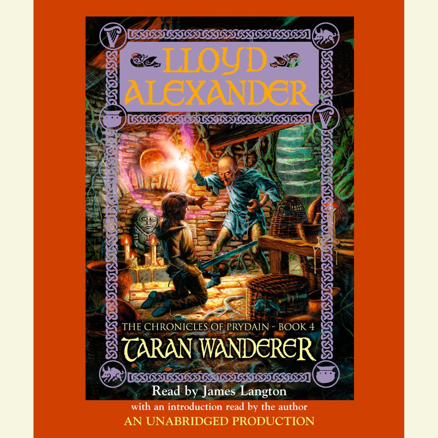 Printable Taran Wanderer Audiobook Cover Art
