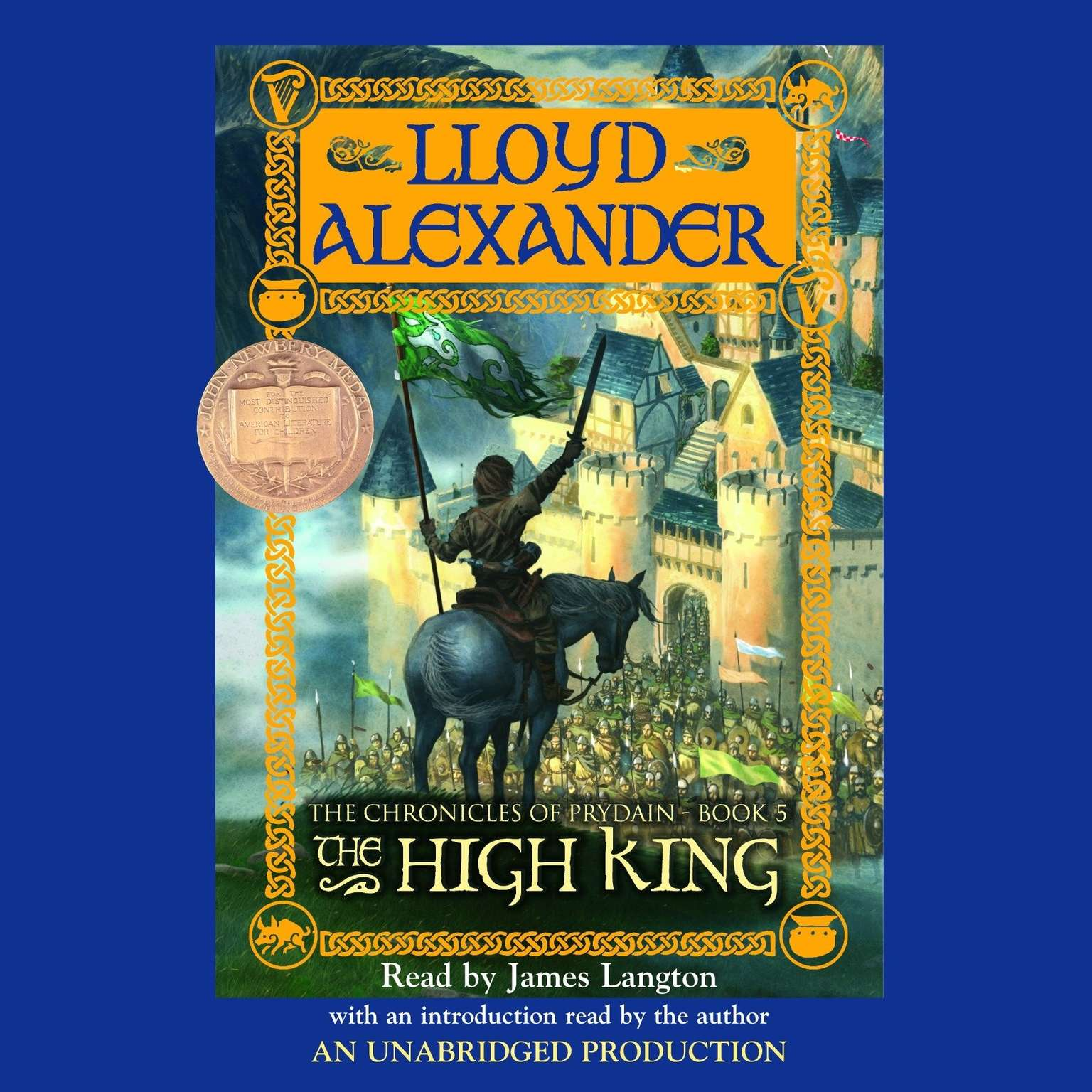 Printable The Prydain Chronicles Book Five: The High King Audiobook Cover Art