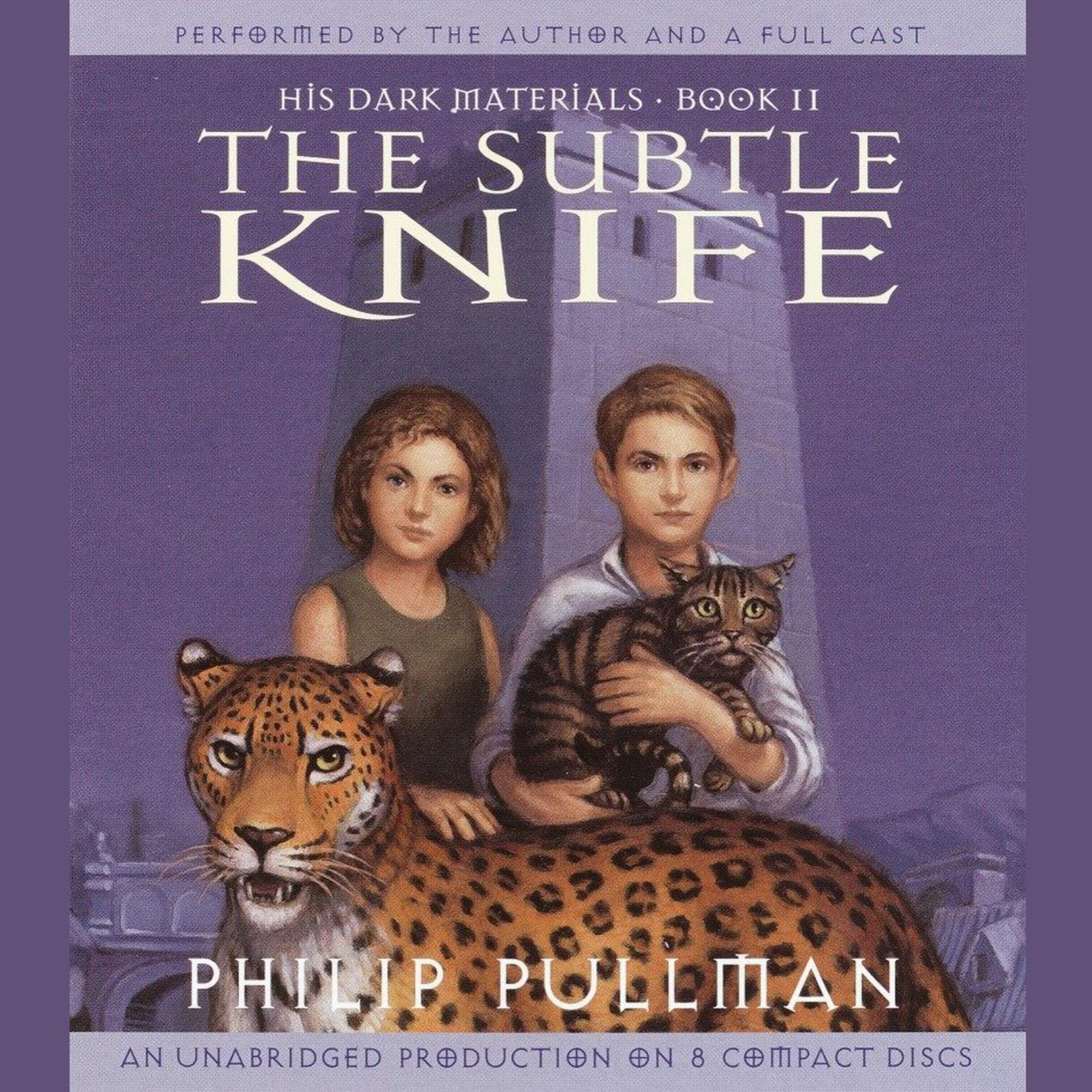 Printable The Subtle Knife: His Dark Materials Audiobook Cover Art