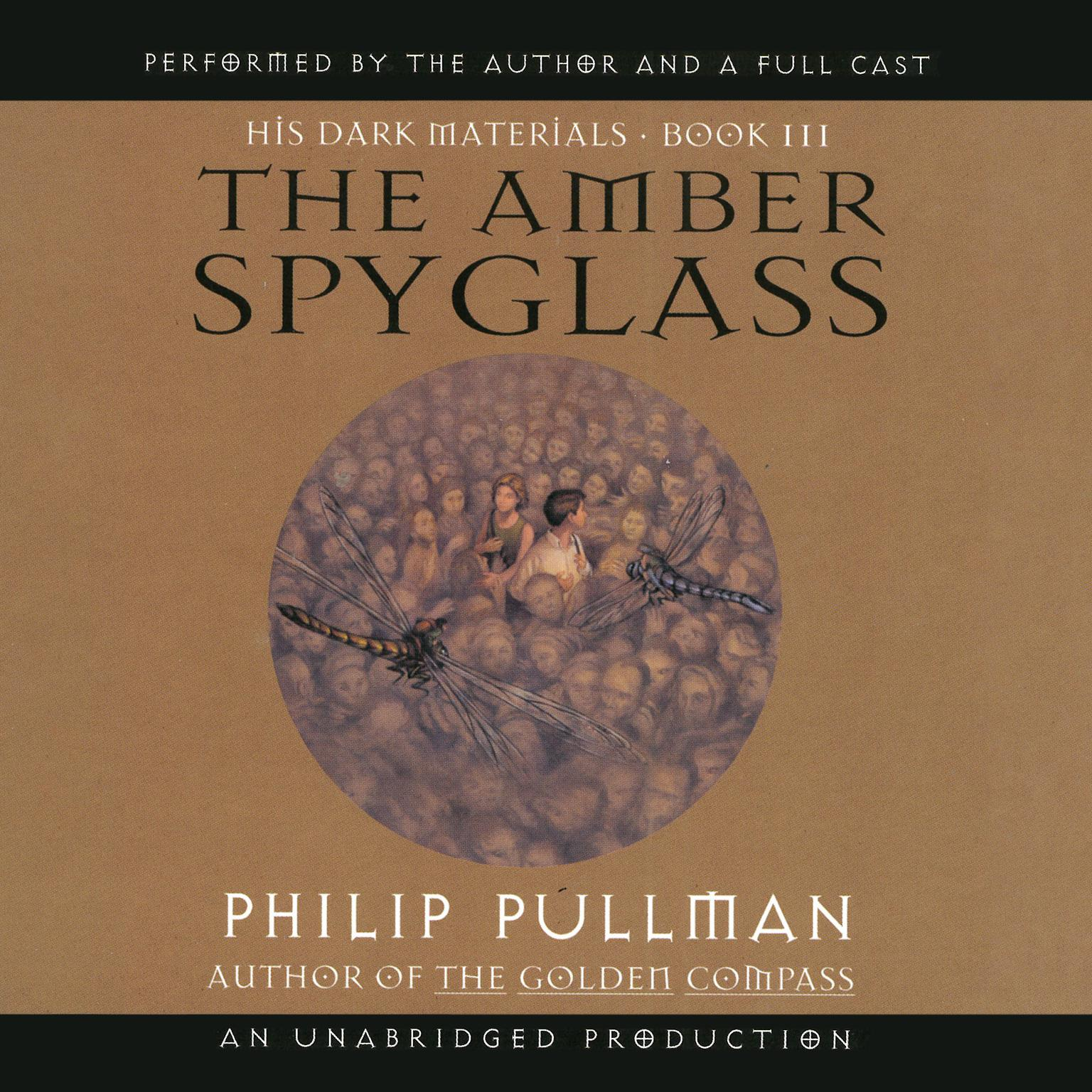 Printable The Amber Spyglass Audiobook Cover Art