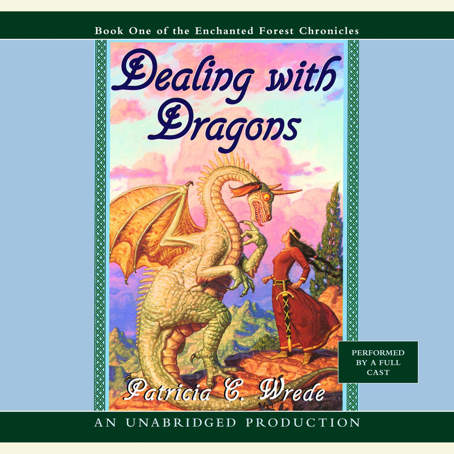 Printable The Enchanted Forest Chronicles Book One: Dealing with Dragons Audiobook Cover Art