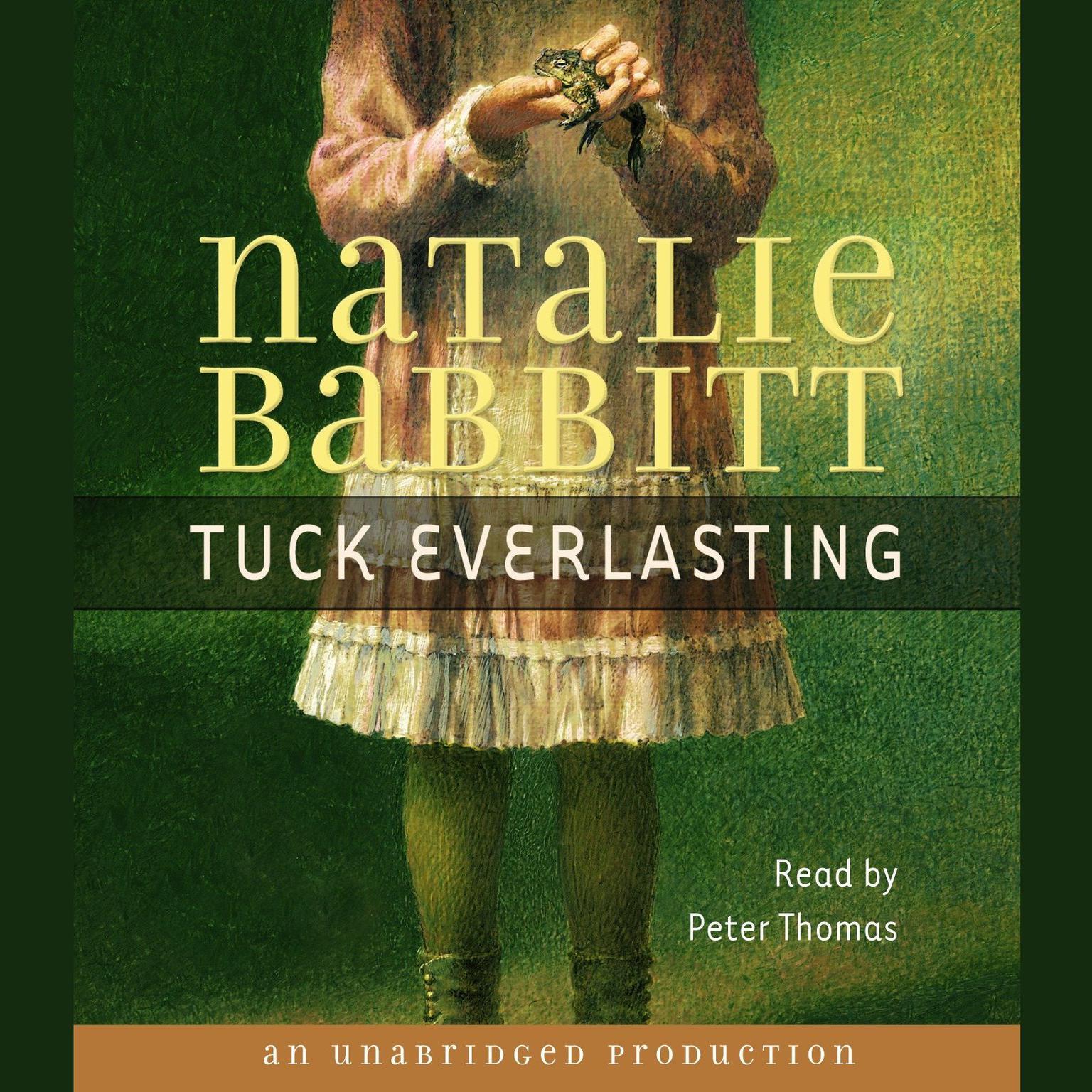 Printable Tuck Everlasting Audiobook Cover Art