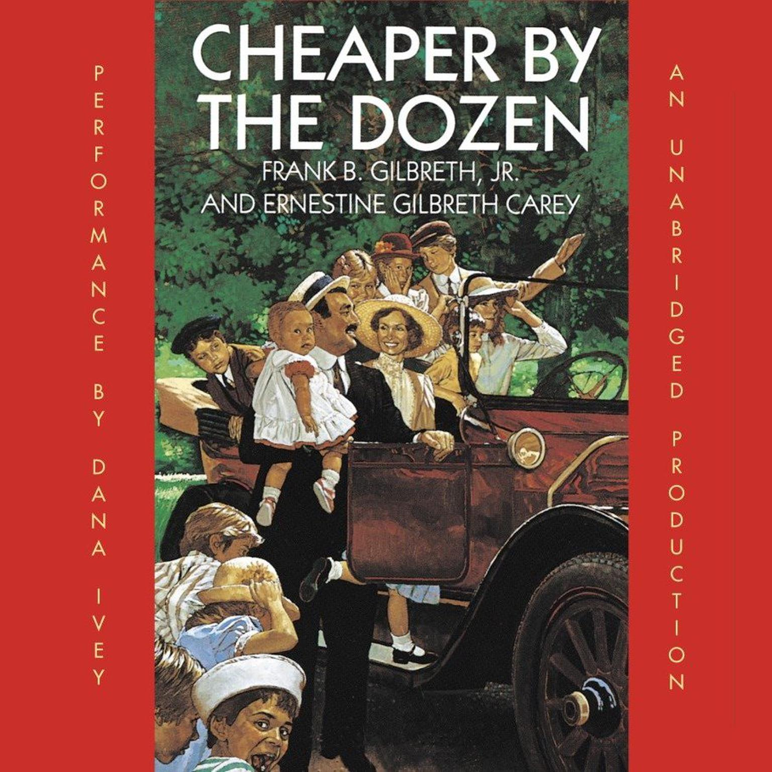 Printable Cheaper By the Dozen Audiobook Cover Art