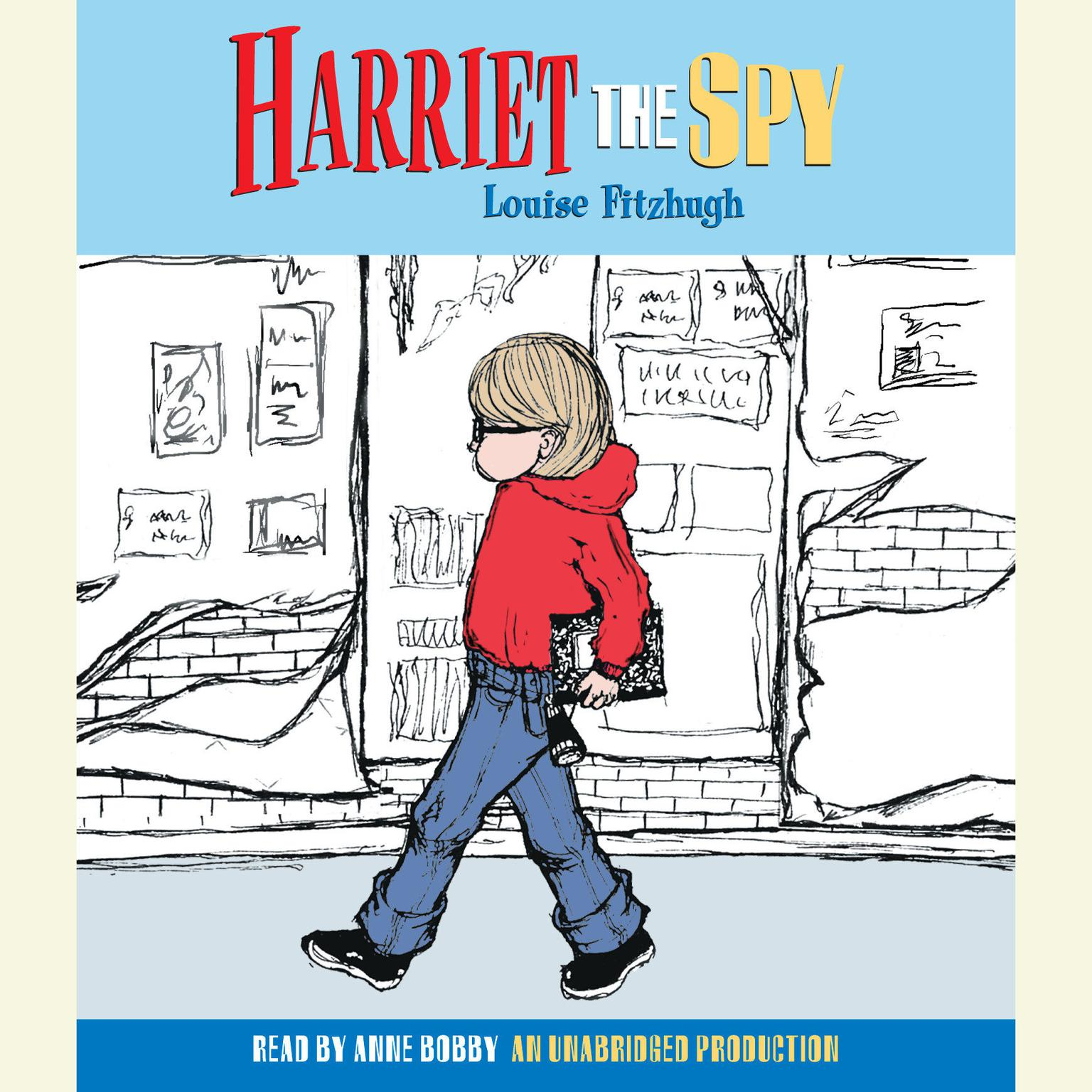Printable Harriet the Spy Audiobook Cover Art