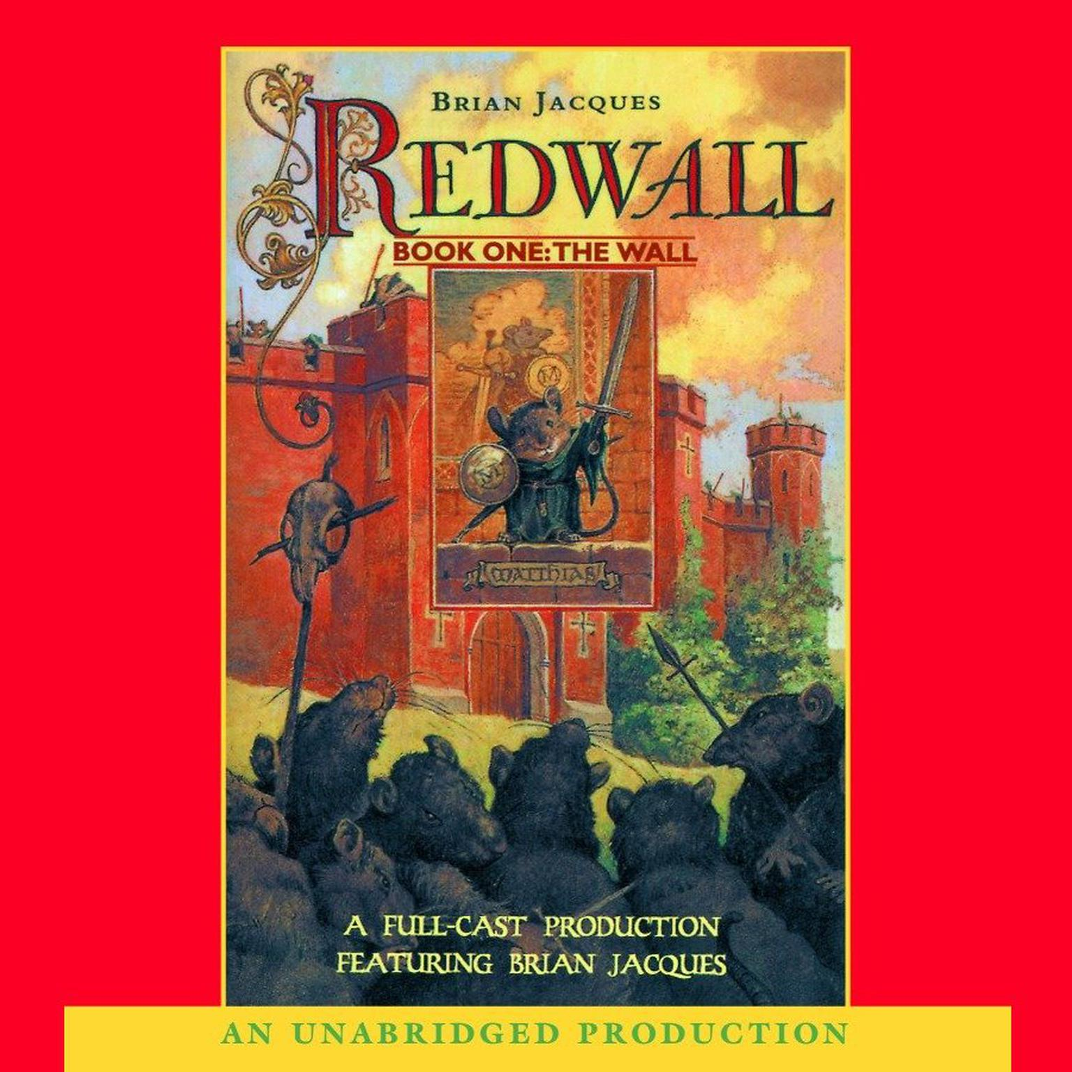 Printable Redwall Audiobook Cover Art