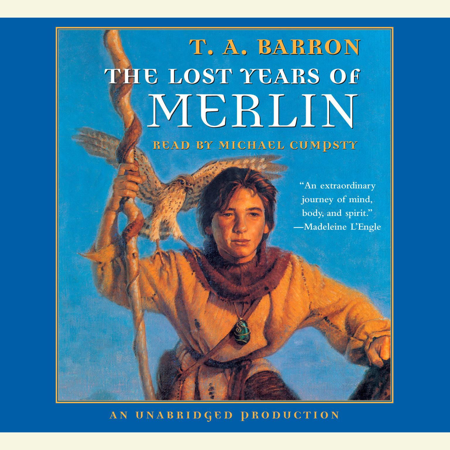 Printable The Lost Years of Merlin: Book 1 of The Lost Years of Merlin Audiobook Cover Art