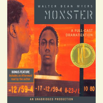 Monster Audiobook, by Walter Dean Myers