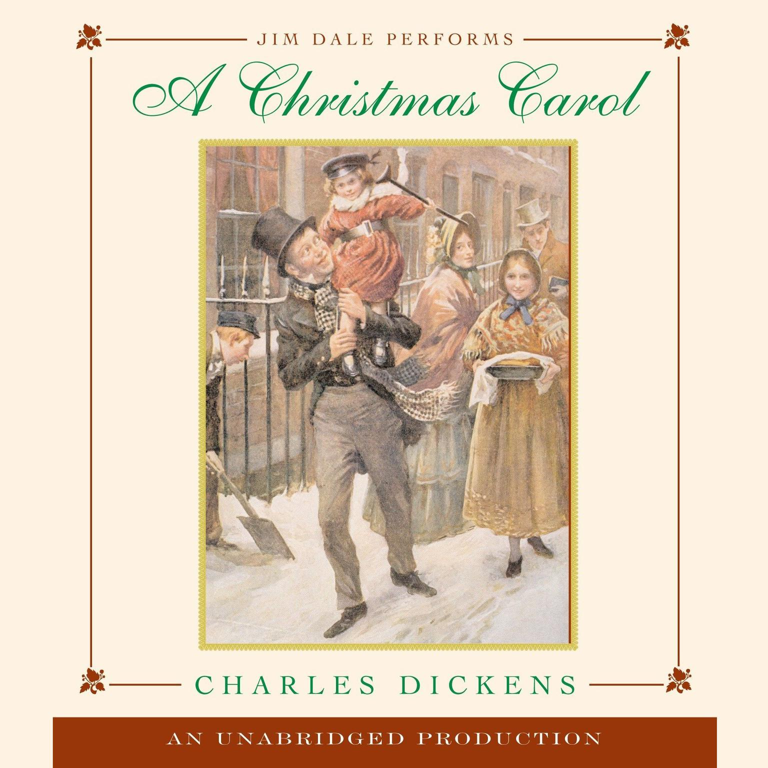 Printable A Christmas Carol Audiobook Cover Art