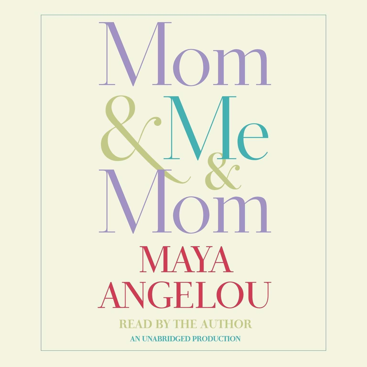 Printable Mom & Me & Mom Audiobook Cover Art