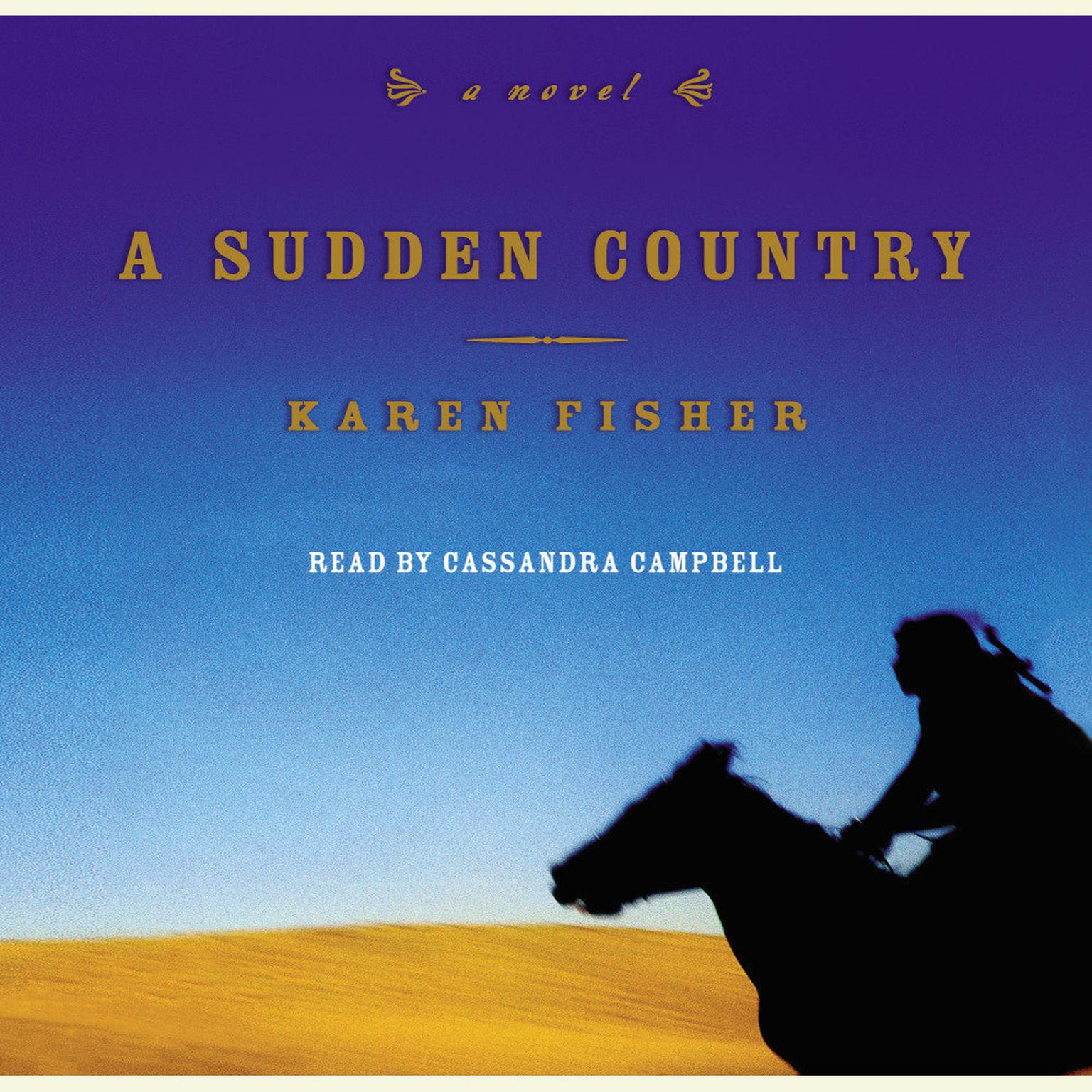 Printable A Sudden Country Audiobook Cover Art