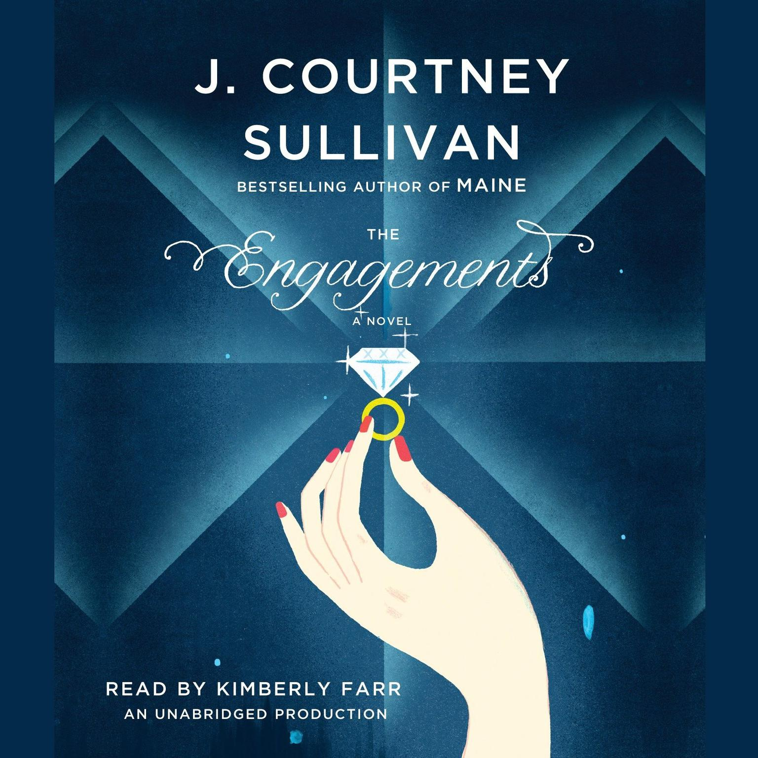 Printable The Engagements Audiobook Cover Art