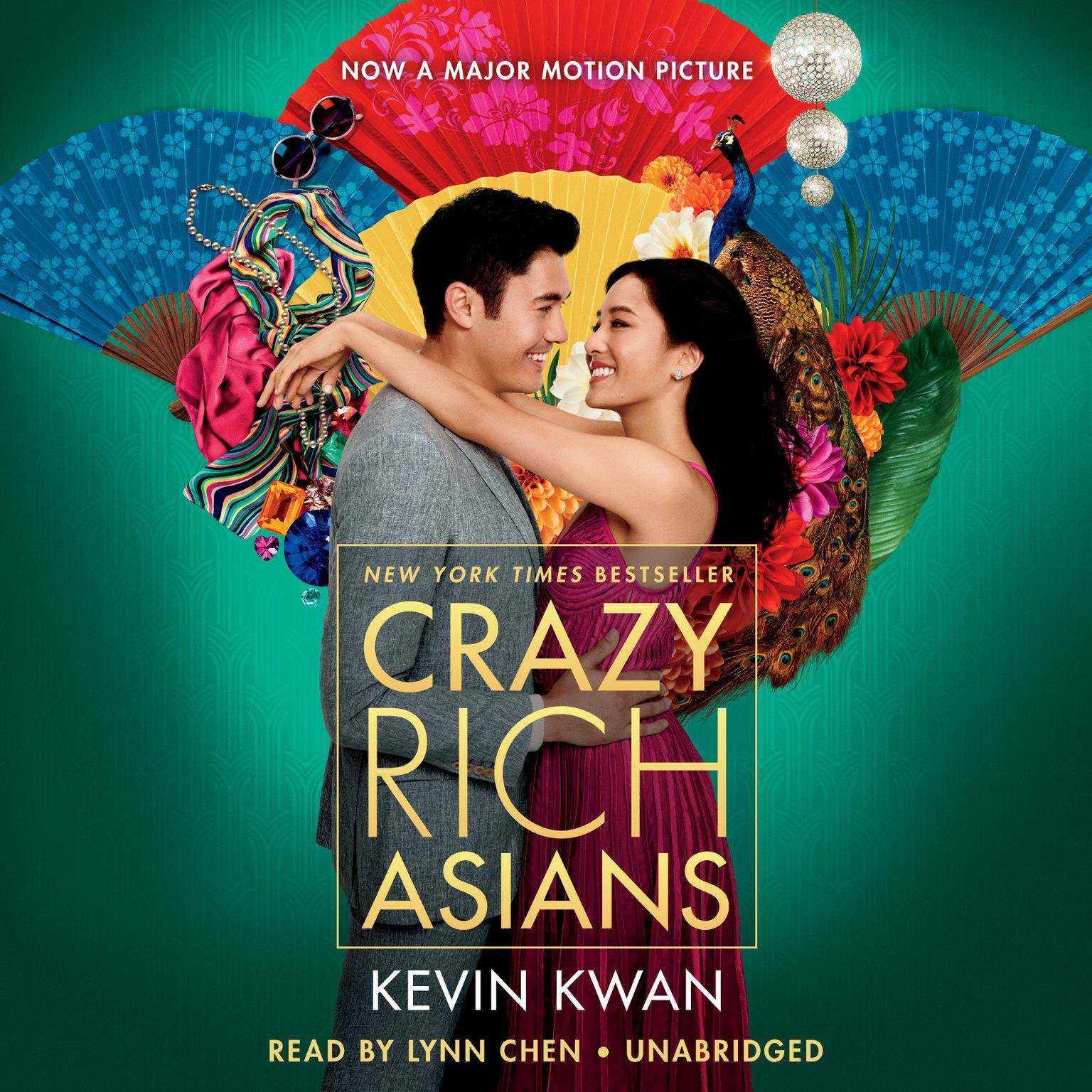 Printable Crazy Rich Asians Audiobook Cover Art