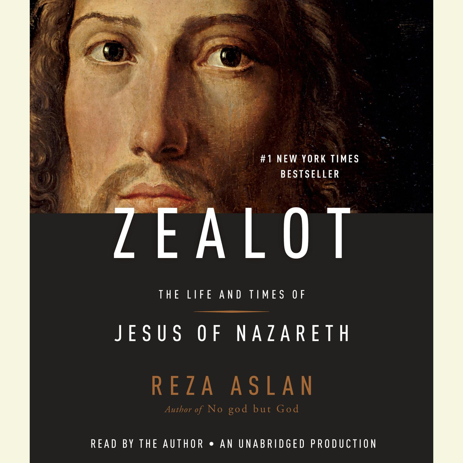 Printable Zealot: The Life and Times of Jesus of Nazareth Audiobook Cover Art