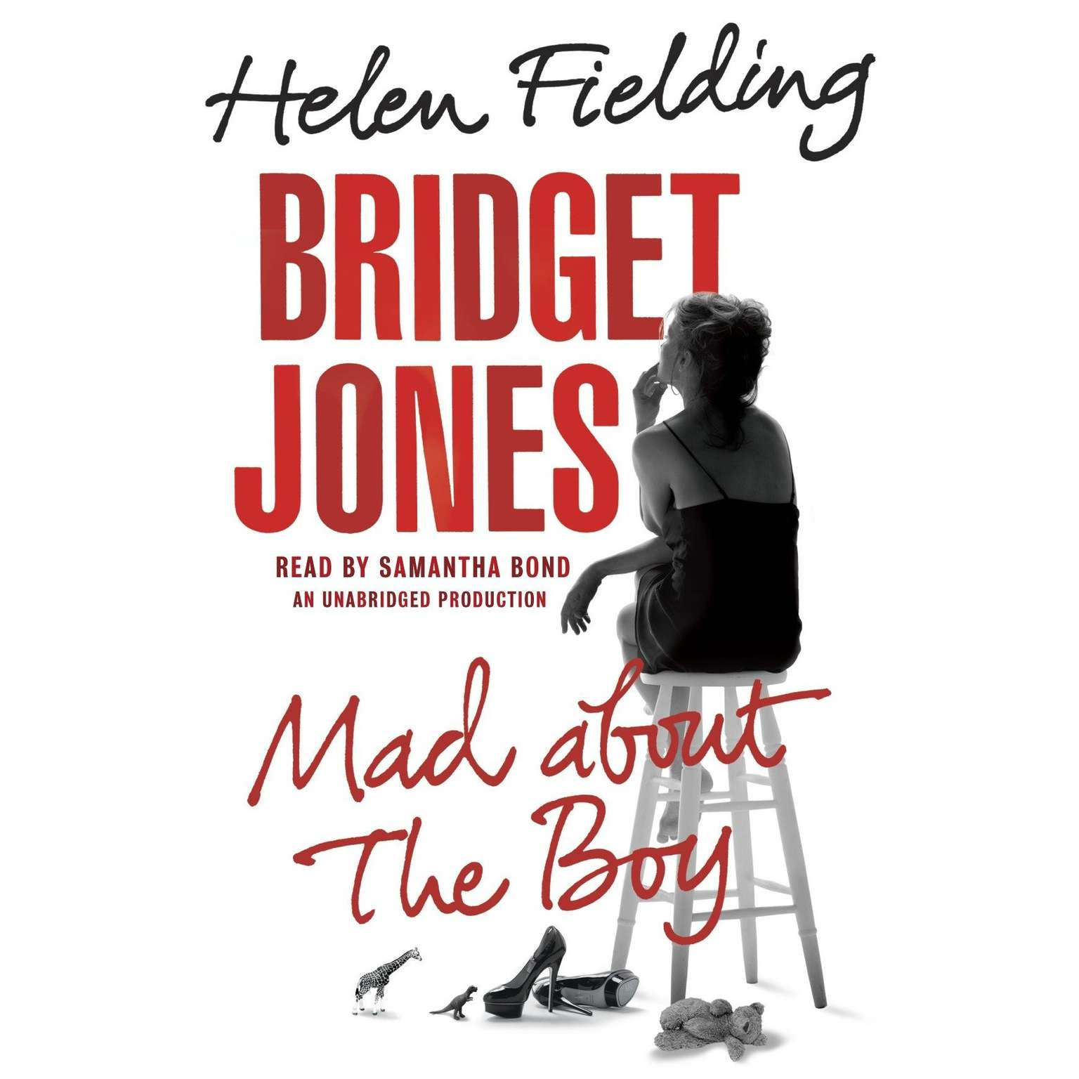 Printable Bridget Jones: Mad About the Boy Audiobook Cover Art