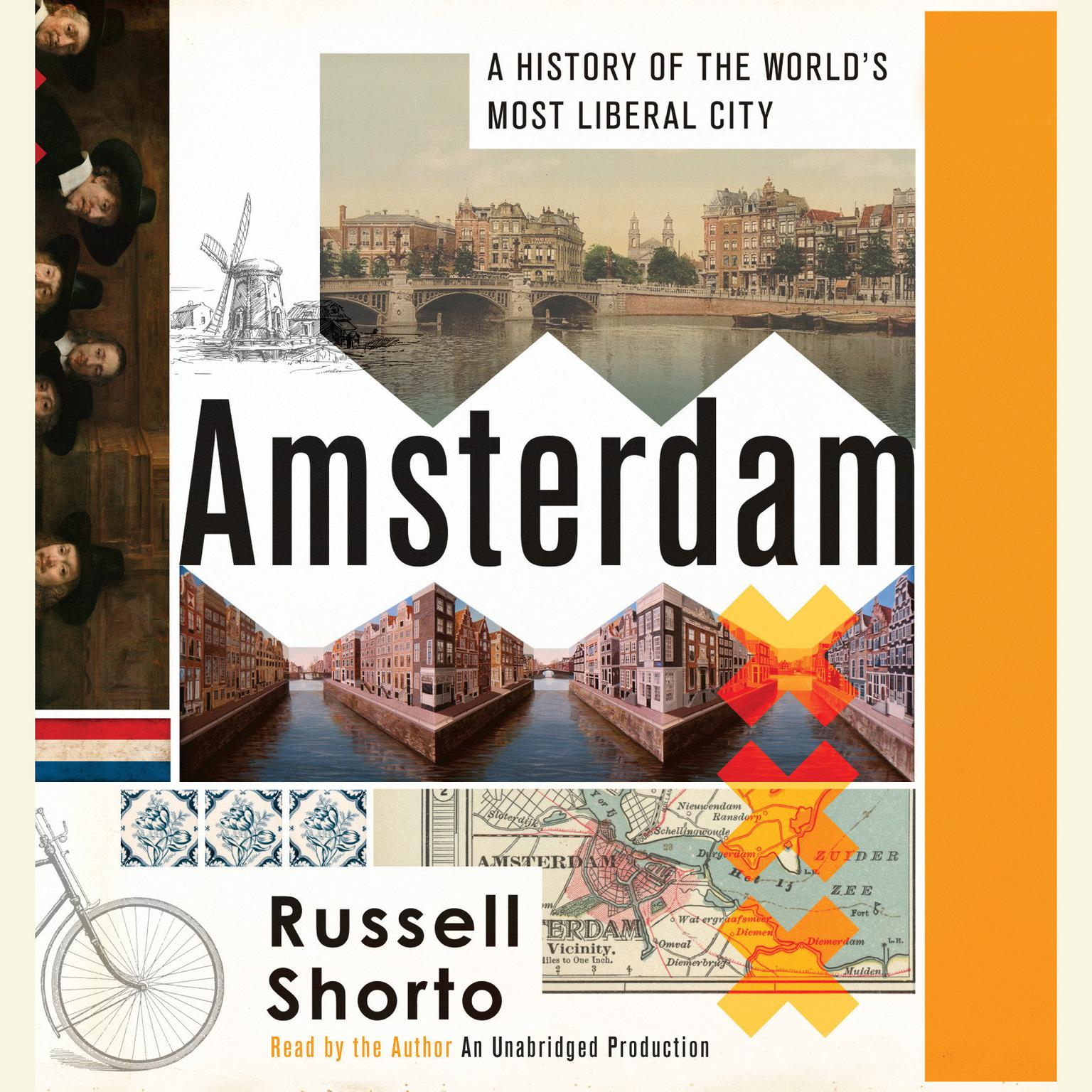 Printable Amsterdam: A History of the World's Most Liberal City Audiobook Cover Art