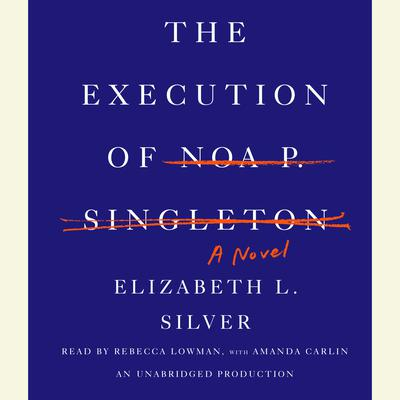 The Execution of Noa P. Singleton: A Novel Audiobook, by Elizabeth L. Silver