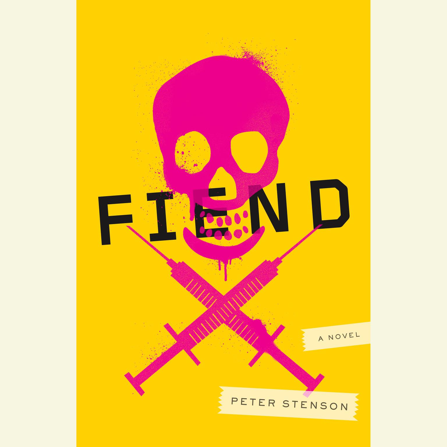 Printable Fiend: A Novel Audiobook Cover Art