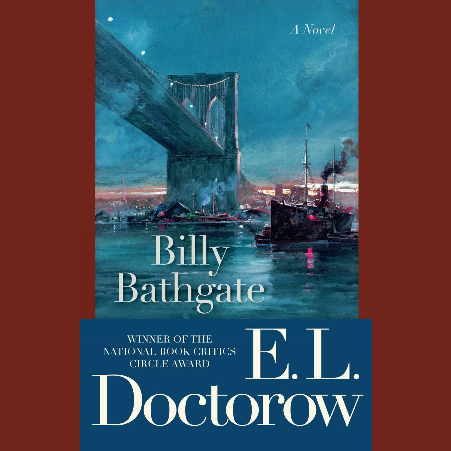 Printable Billy Bathgate: A Novel Audiobook Cover Art