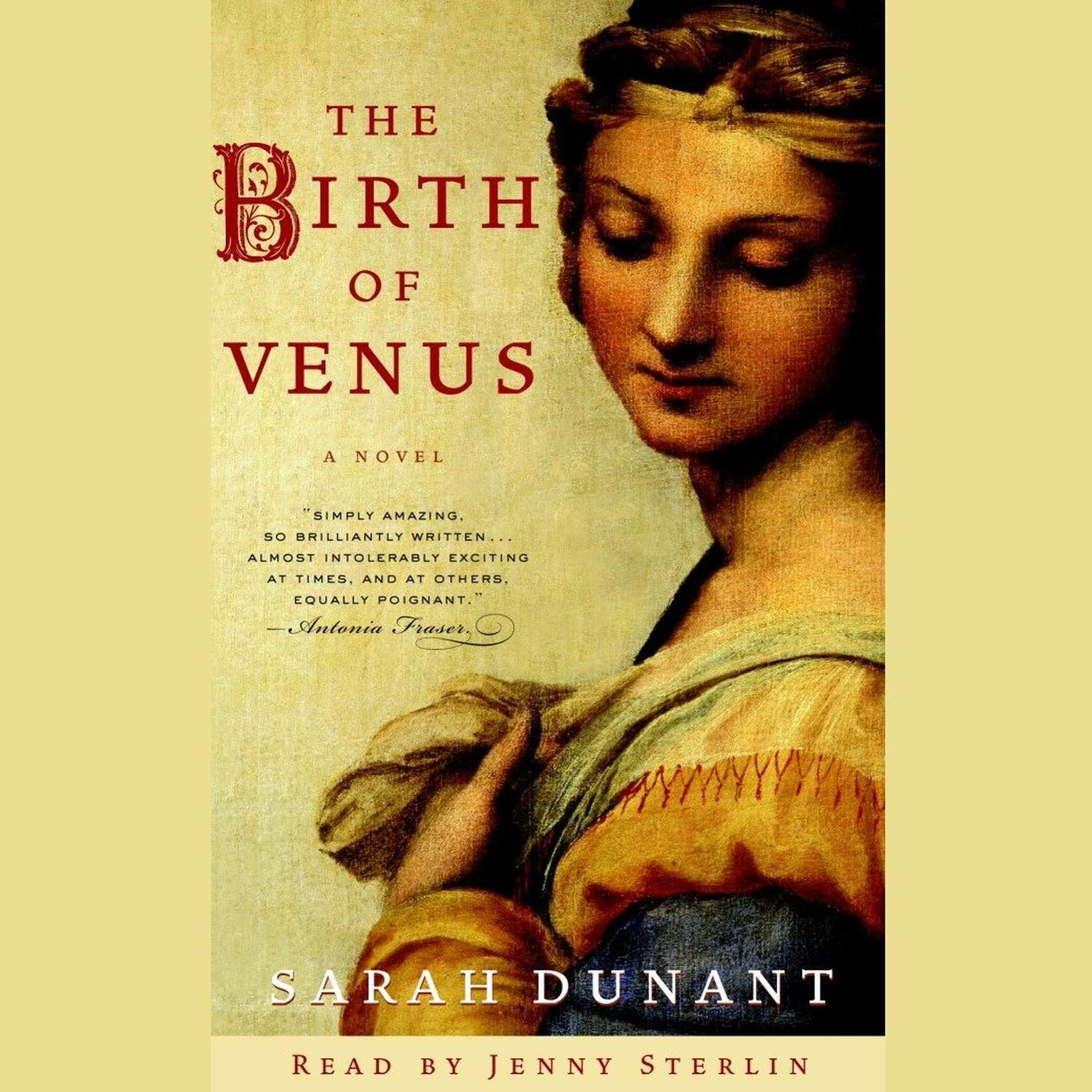 Printable The Birth of Venus: A Novel Audiobook Cover Art