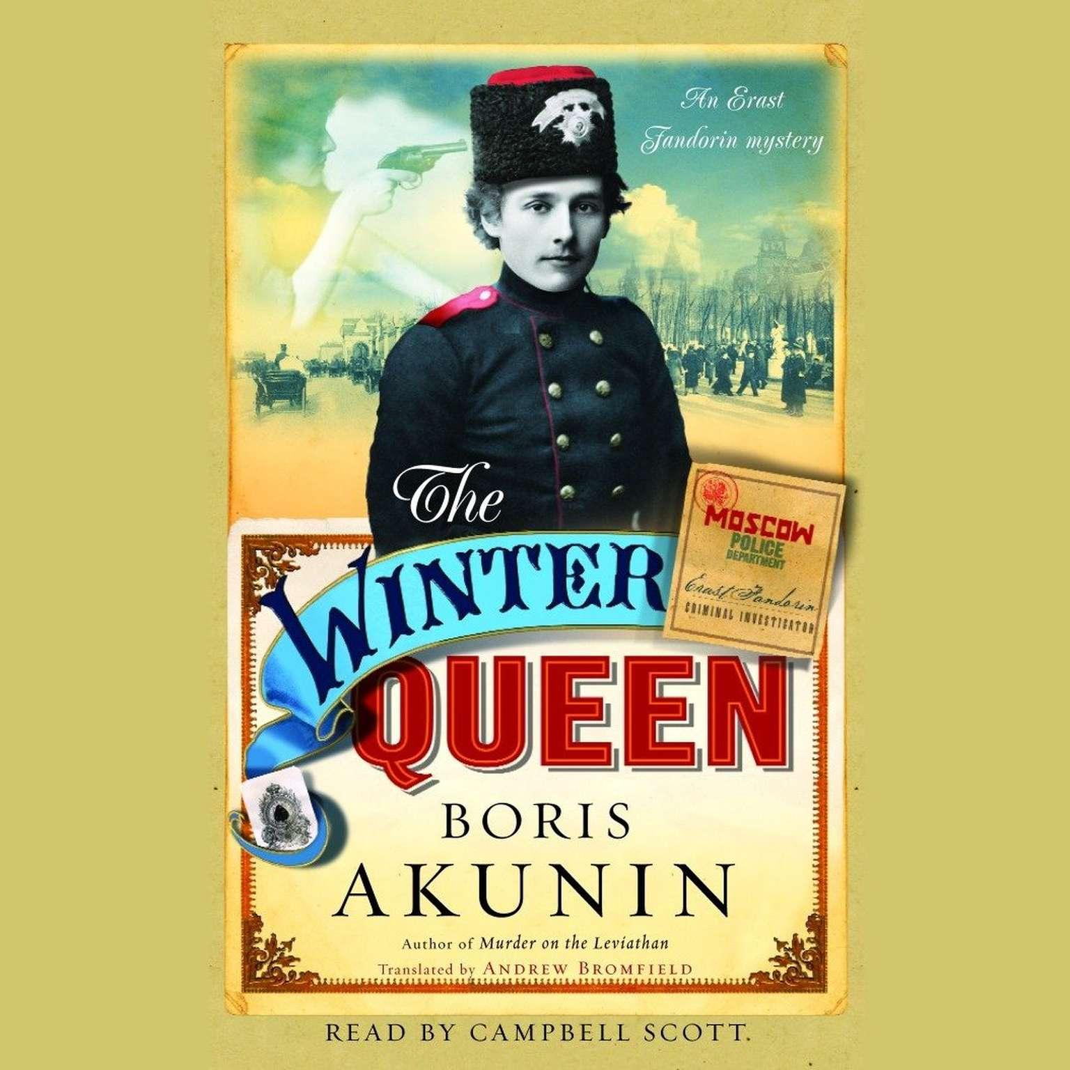 Printable The Winter Queen: A Novel Audiobook Cover Art