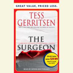 The Surgeon: A Rizzoli & Isles Novel Audiobook, by Tess Gerritsen