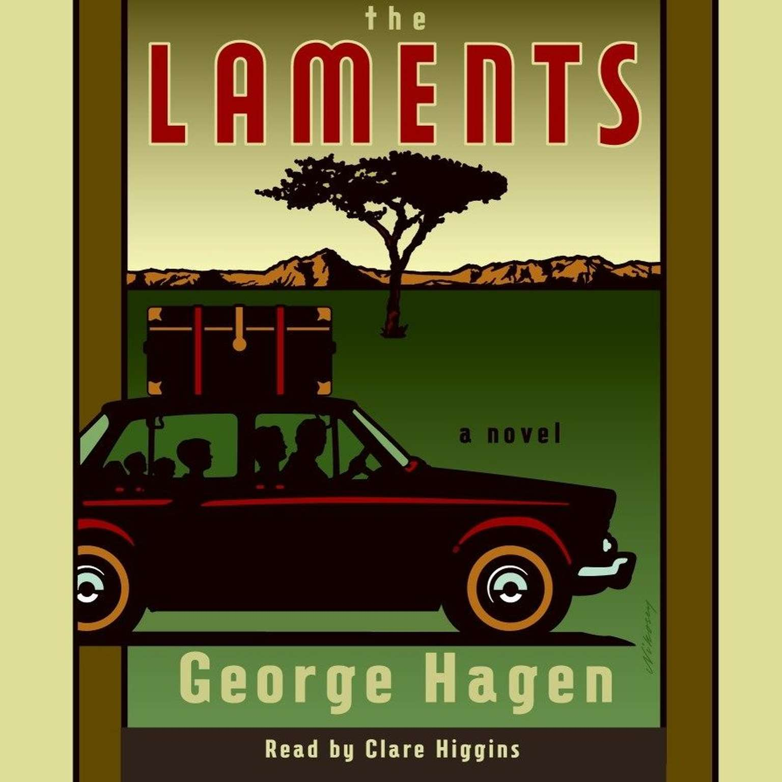 Printable The Laments: A Novel Audiobook Cover Art