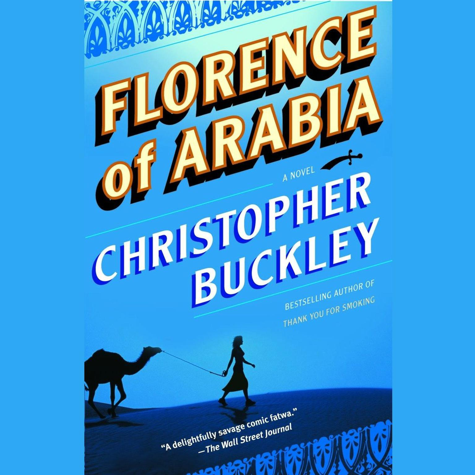 Printable Florence of Arabia: A Novel Audiobook Cover Art