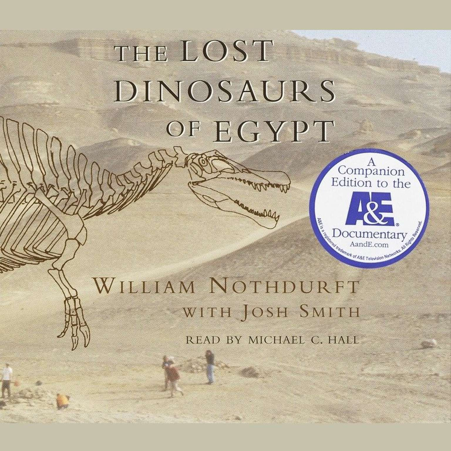 Printable The Lost Dinosaurs of Egypt Audiobook Cover Art