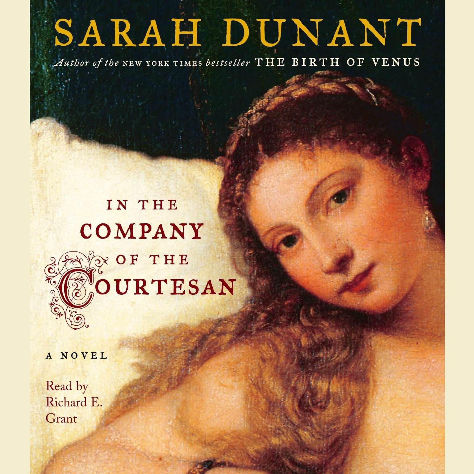 Printable In the Company of the Courtesan Audiobook Cover Art