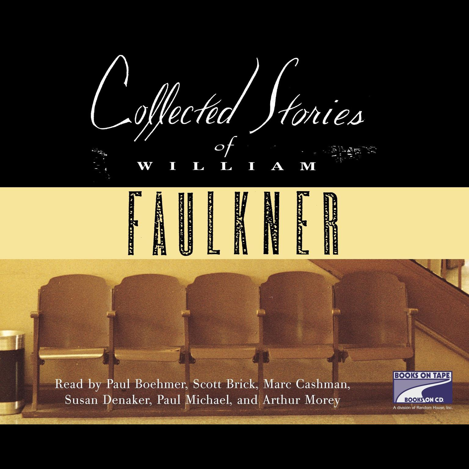 Printable Collected Stories of William Faulkner Audiobook Cover Art