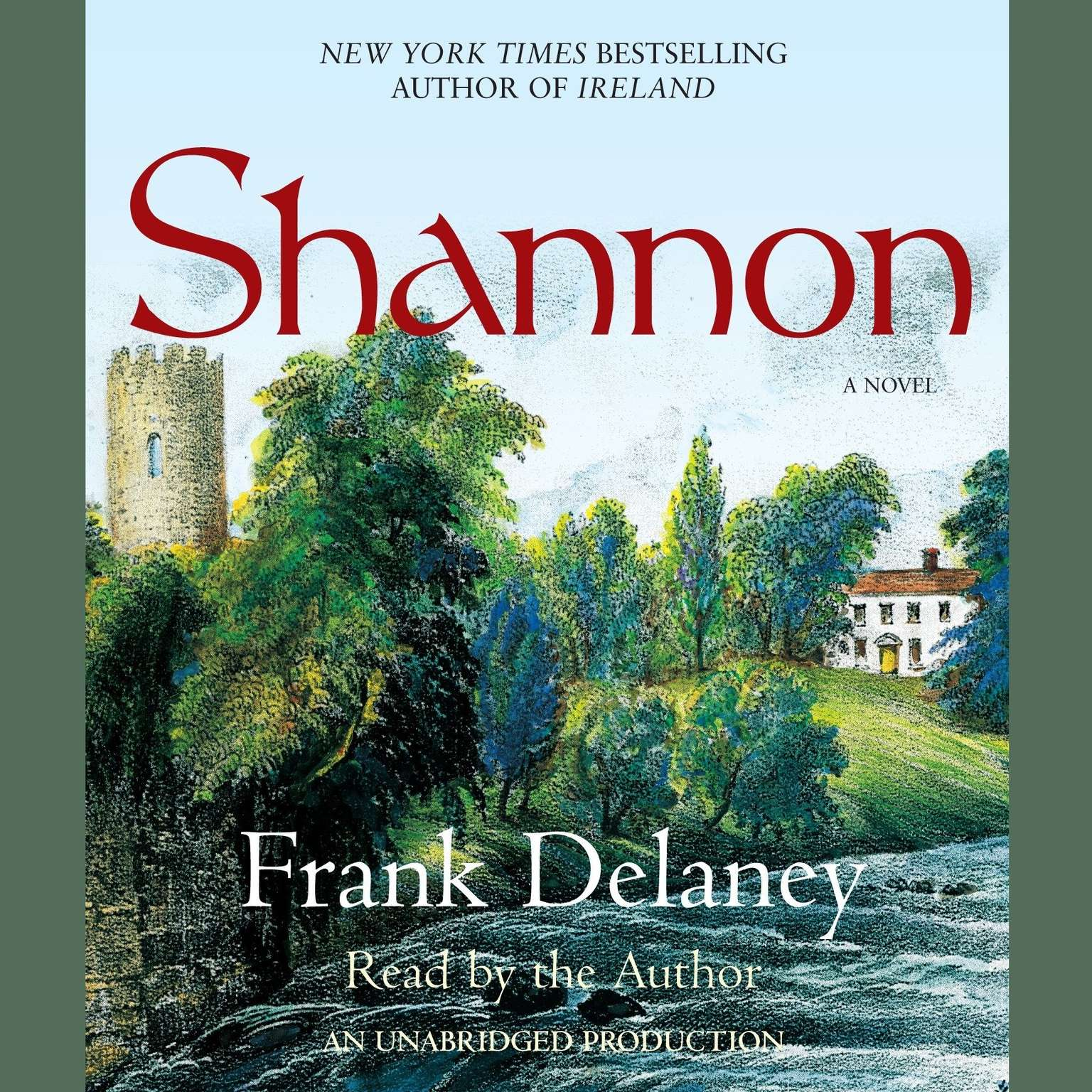 Printable Shannon: A Novel of Ireland Audiobook Cover Art