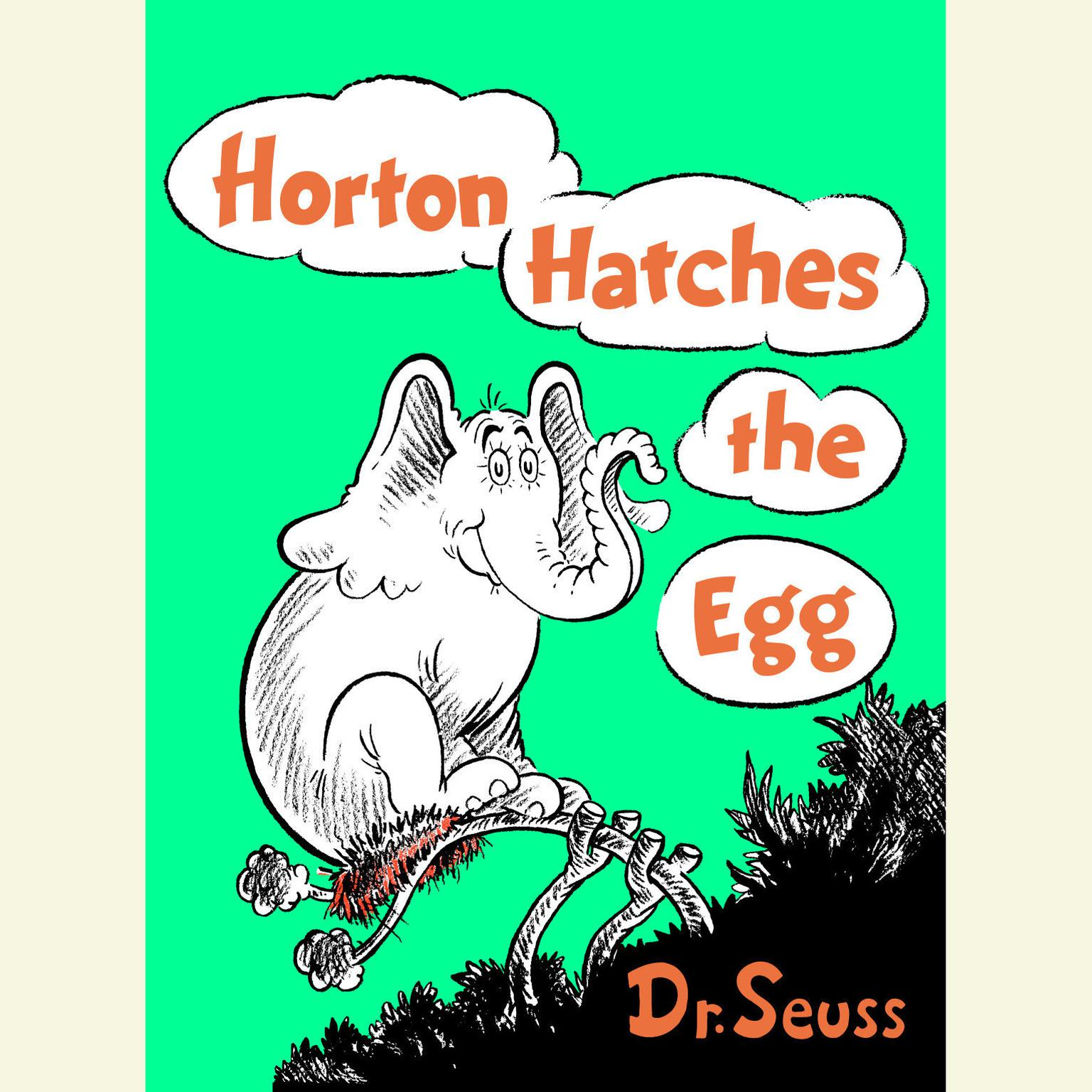 Printable Horton Hatches the Egg Audiobook Cover Art