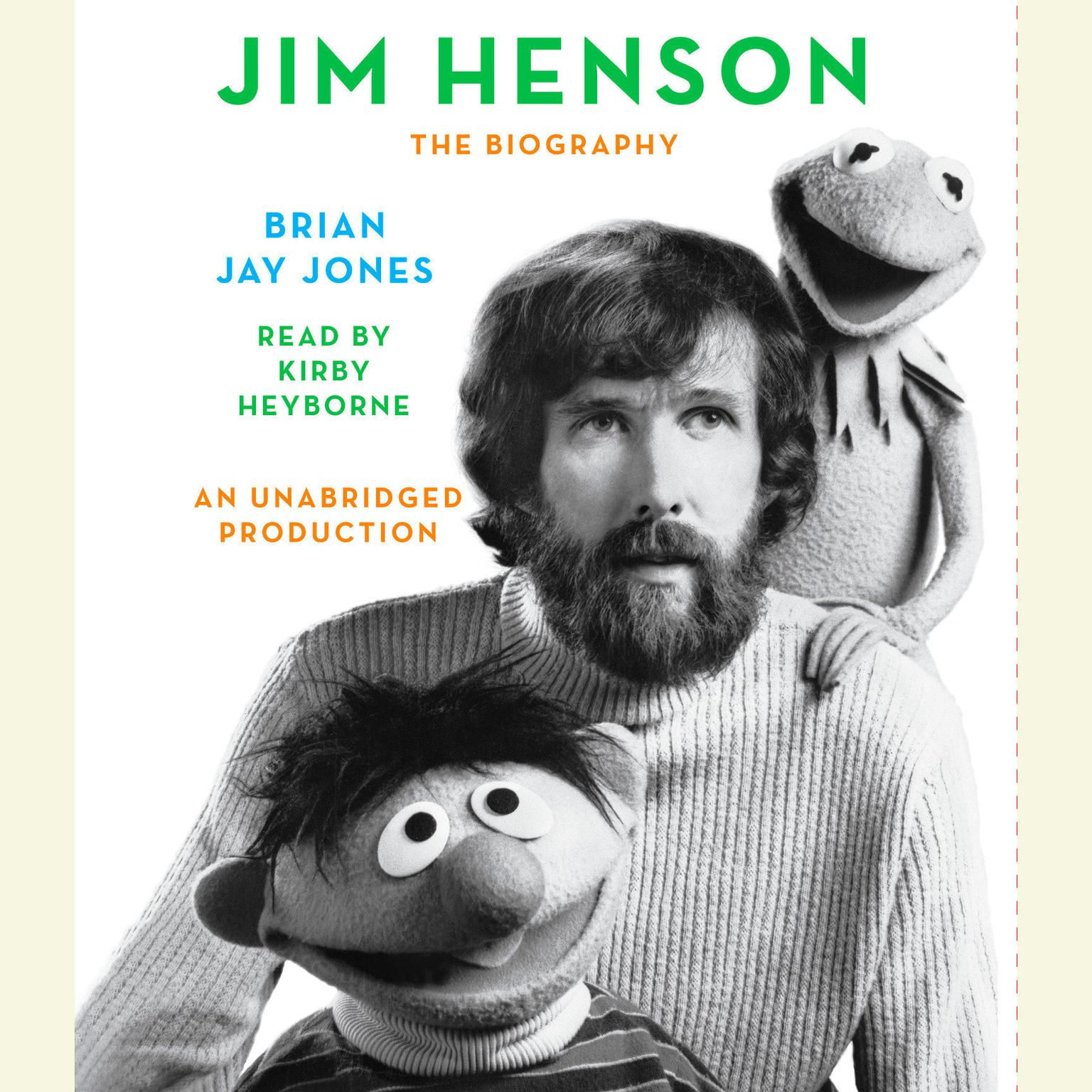 Printable Jim Henson: The Biography Audiobook Cover Art