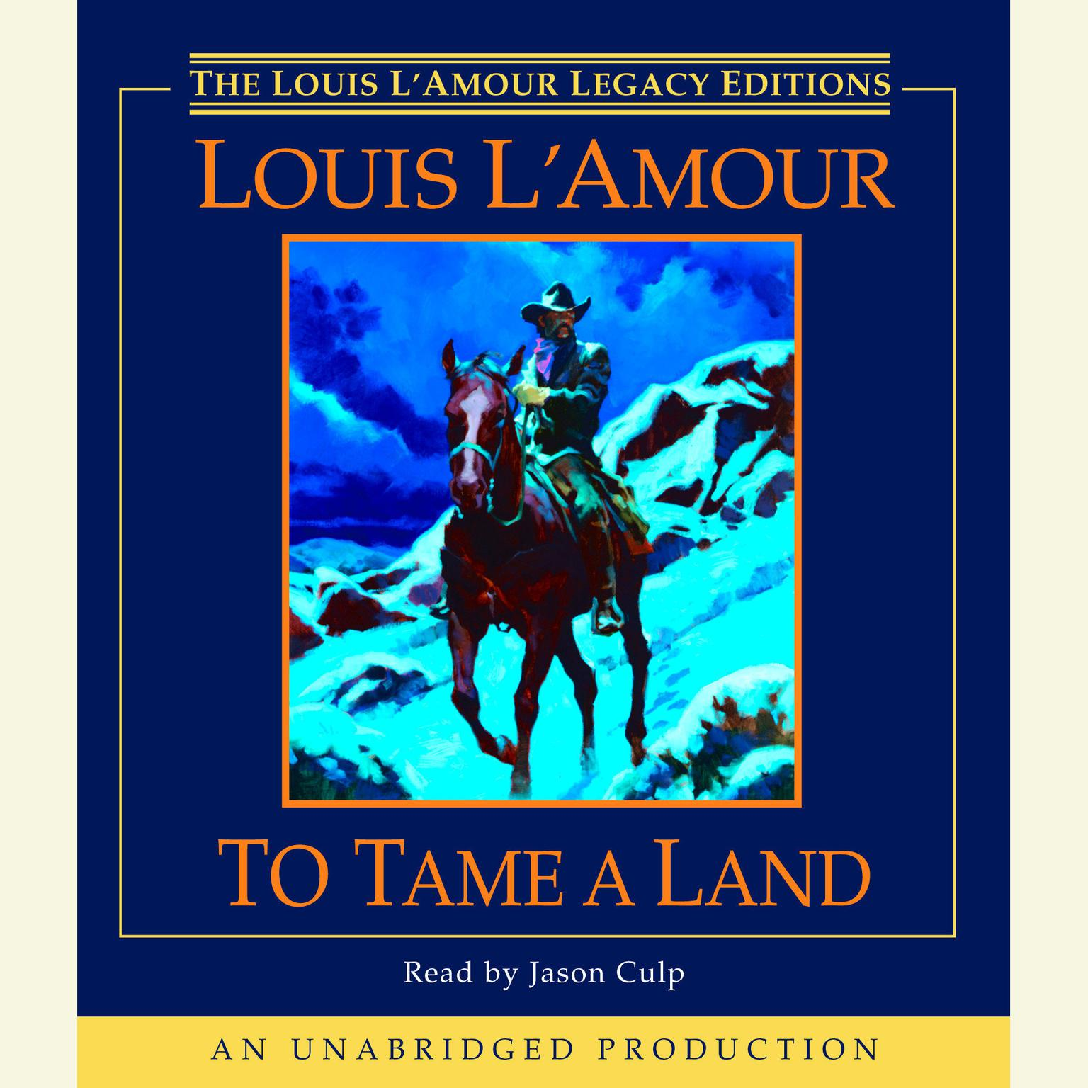 Printable To Tame a Land Audiobook Cover Art