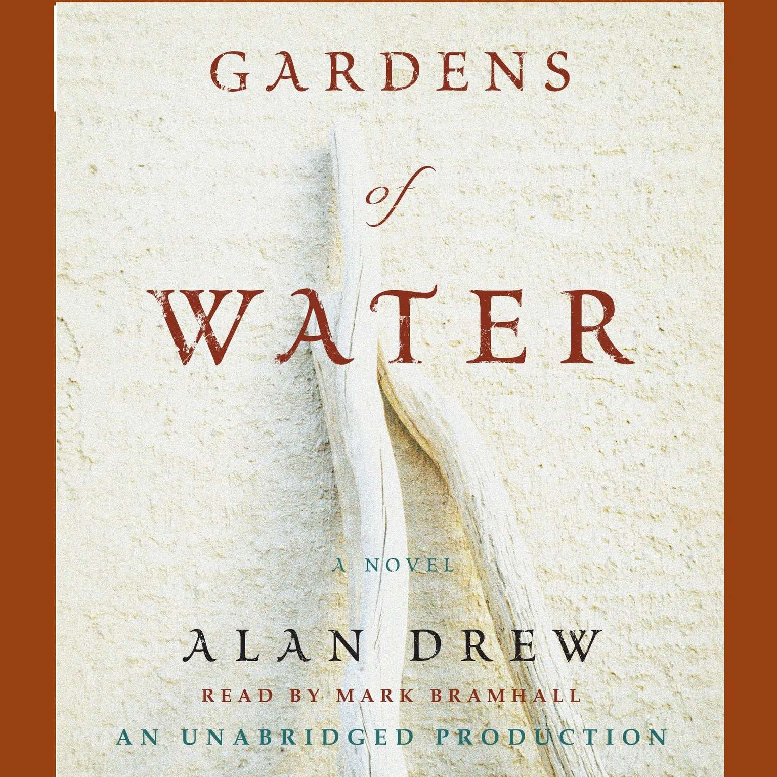 Printable Gardens of Water: A Novel Audiobook Cover Art