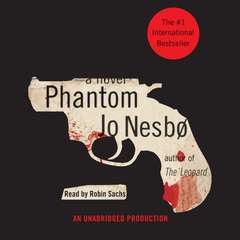 Phantom Audiobook, by Jo Nesbo, Jo Nesbø