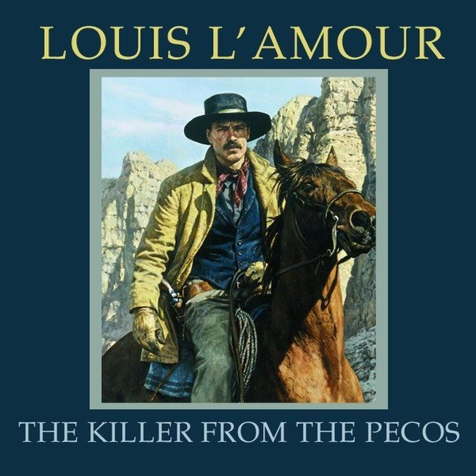 Printable The Killer from the Pecos Audiobook Cover Art
