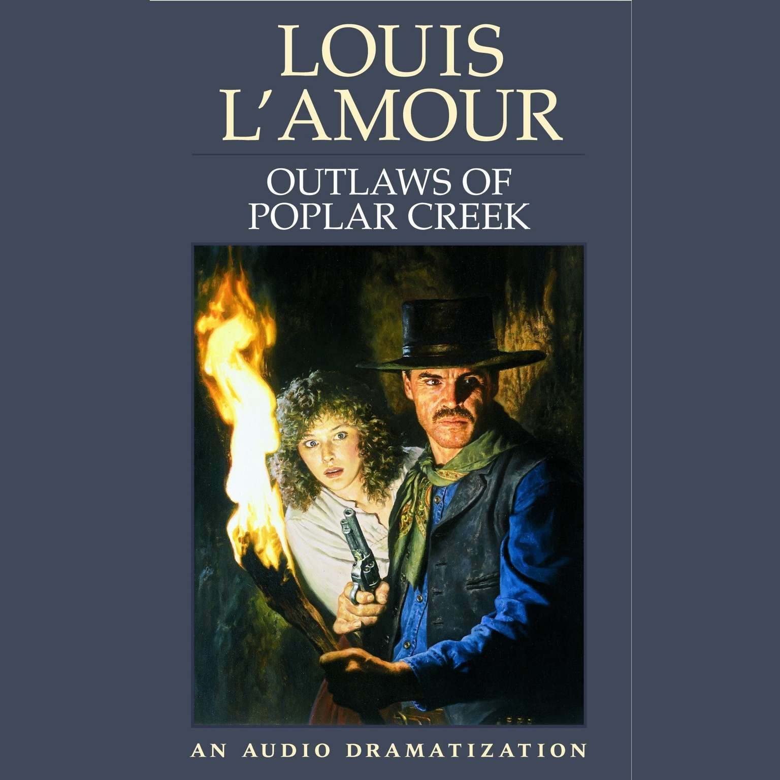 Printable Outlaws of Poplar Creek Audiobook Cover Art