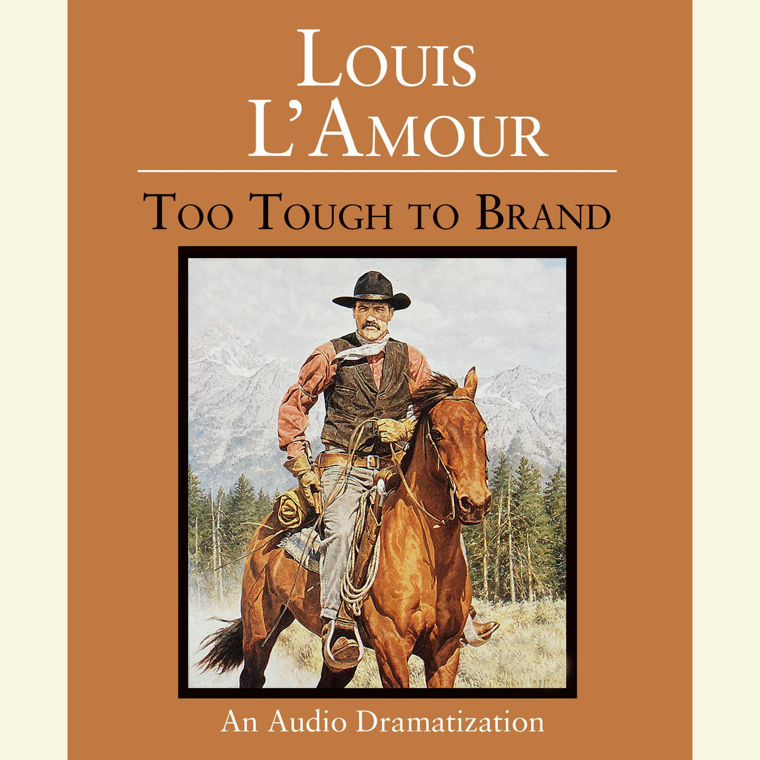 Printable Too Tough to Brand Audiobook Cover Art