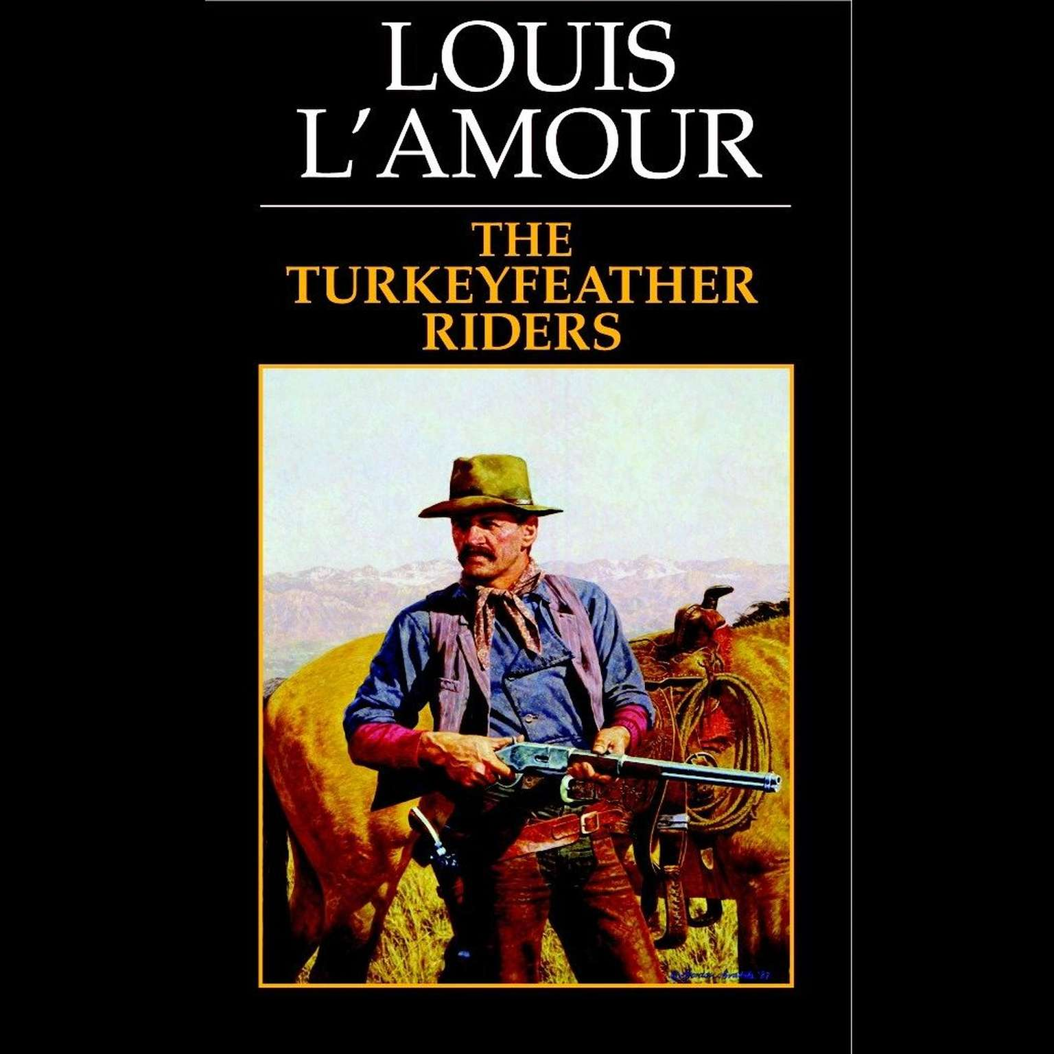 Printable Turkeyfeather Riders Audiobook Cover Art