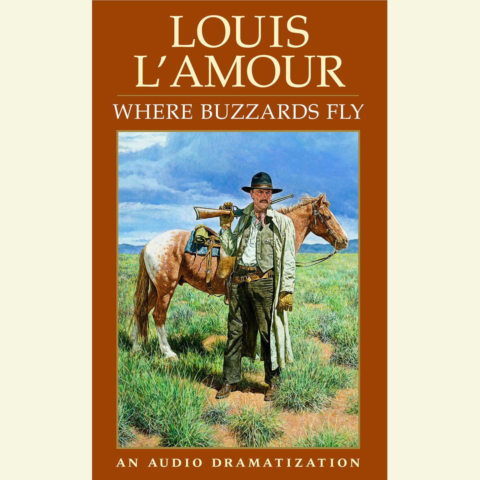 Printable Where Buzzards Fly Audiobook Cover Art