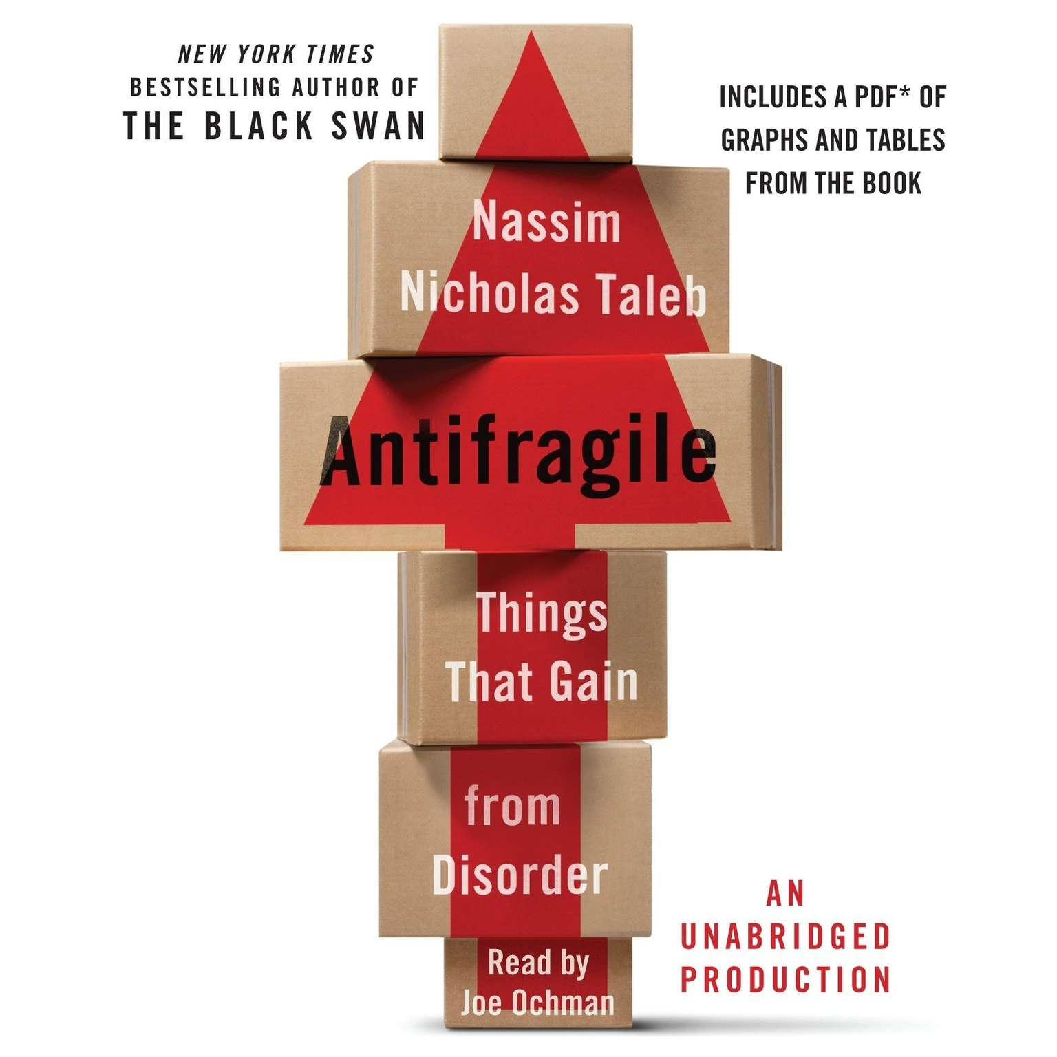 Printable Antifragile: Things That Gain from Disorder Audiobook Cover Art