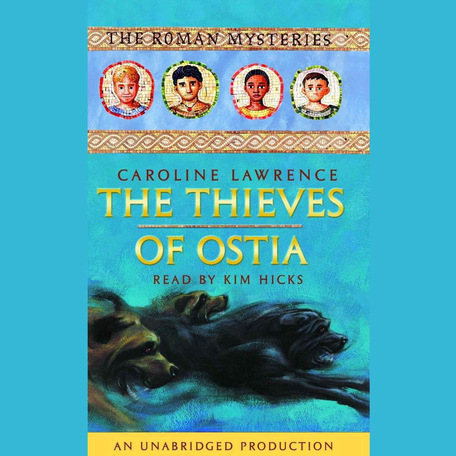Printable The Thieves of Ostia: The Roman Mysteries Book 3 Audiobook Cover Art