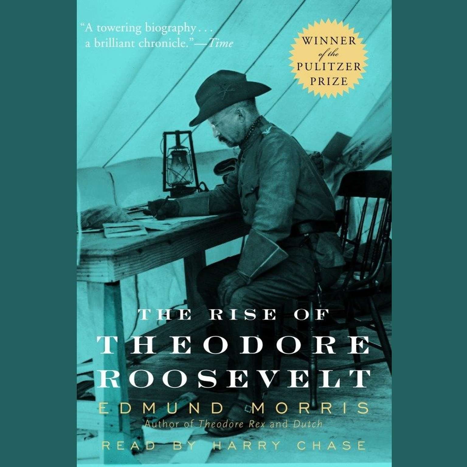 Printable The Rise of Theodore Roosevelt Audiobook Cover Art