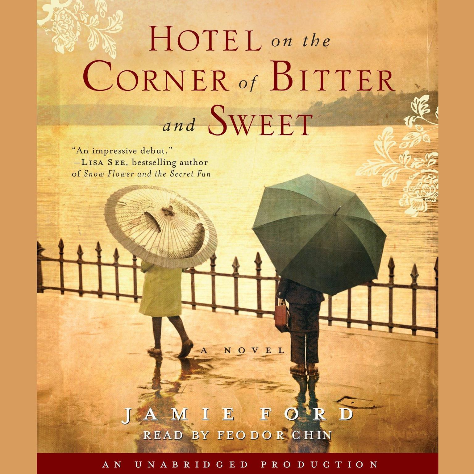Printable Hotel on the Corner of Bitter and Sweet: A Novel Audiobook Cover Art