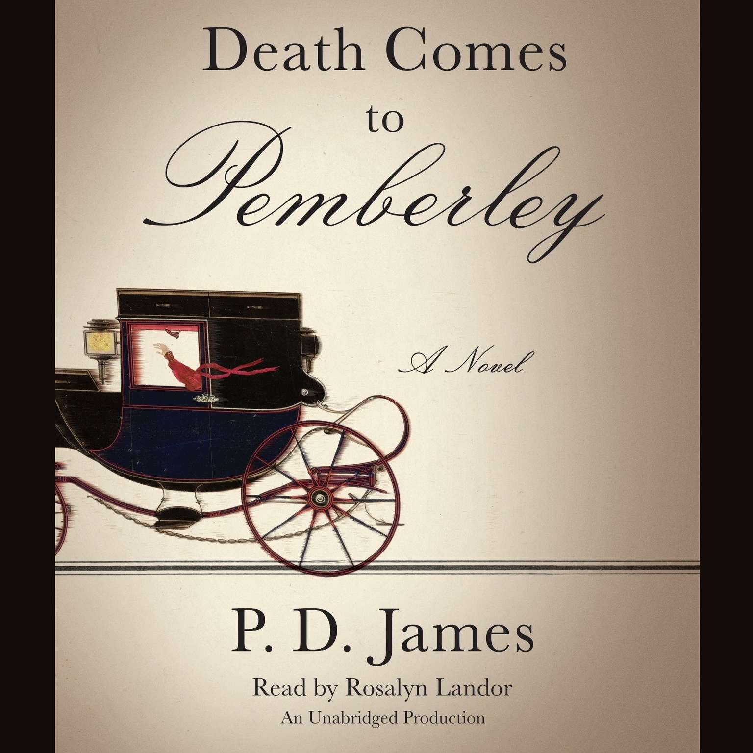 Printable Death Comes to Pemberley Audiobook Cover Art