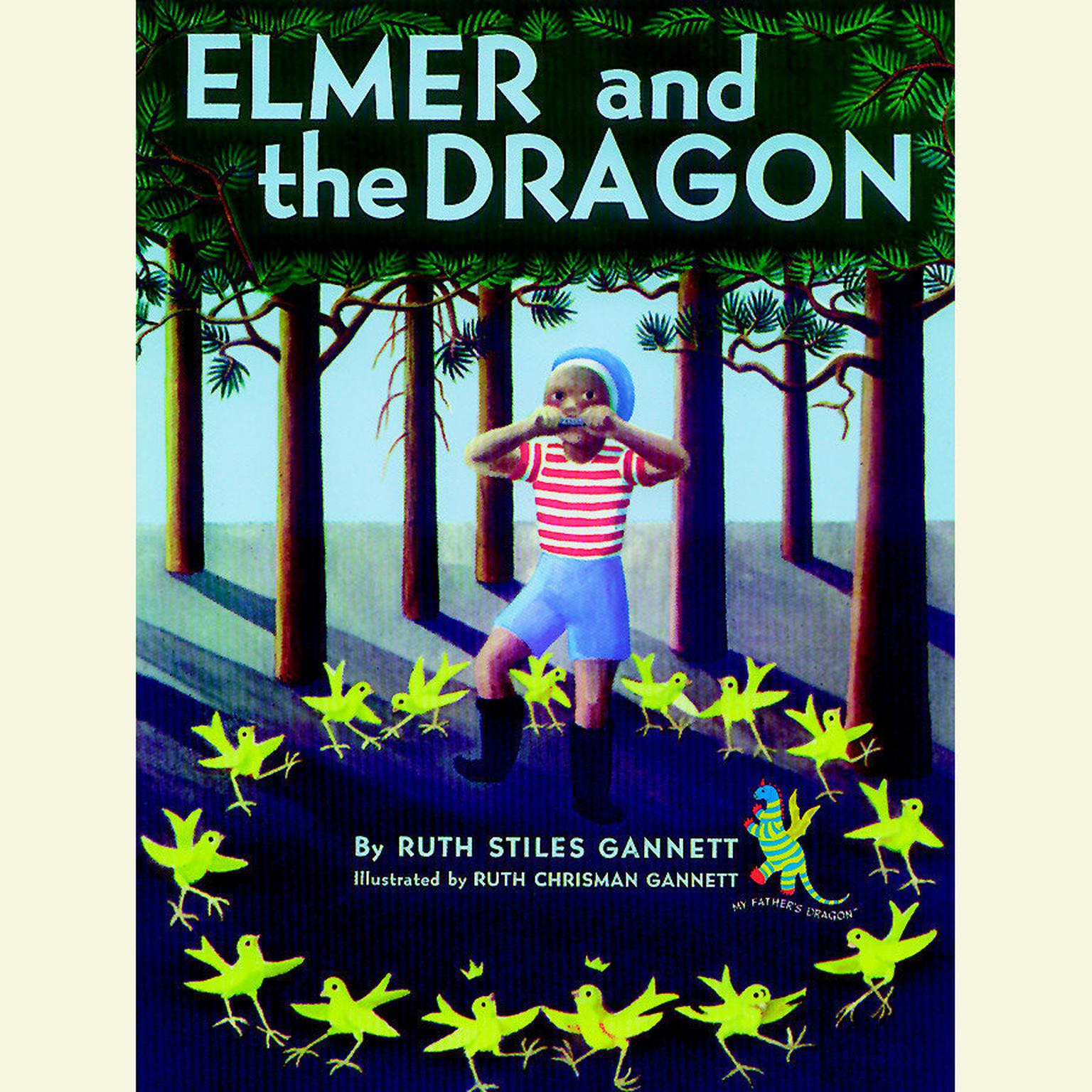 Printable Elmer and the Dragon Audiobook Cover Art