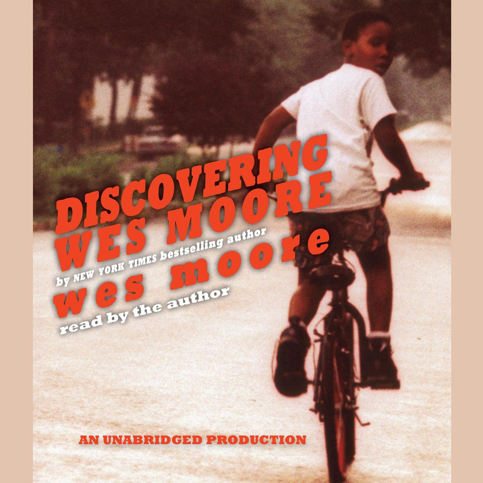 Printable Discovering Wes Moore Audiobook Cover Art