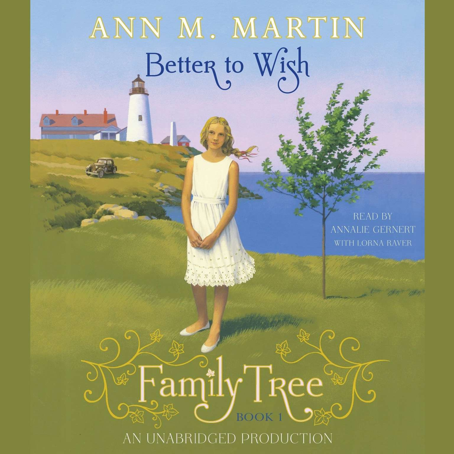 Printable Family Tree #1 Audiobook Cover Art